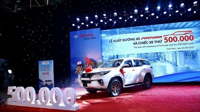 Đây là cột mốc quan trọng trong lịch sử hình thành và phát triển của Toyota tại Việt Nam, đồng thời thể hiện sự nỗ lực của TMV trong việc thúc đẩy sản xuất trong nước theo định hướng của chính phủ, thông qua đó đóng góp cho sự phát triển của ngành công ng