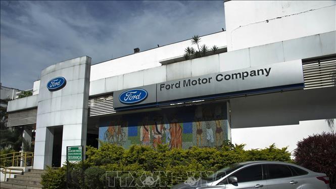 Nhà máy của hãng ô tô Ford tại Sao Bernardo do Campo, Brazil. Ảnh minh họa: AFP/TTXVN