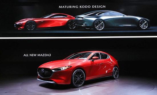 Xe điện đầu tay của Mazda sẽ được thiết kế dựa trên Mazda3.