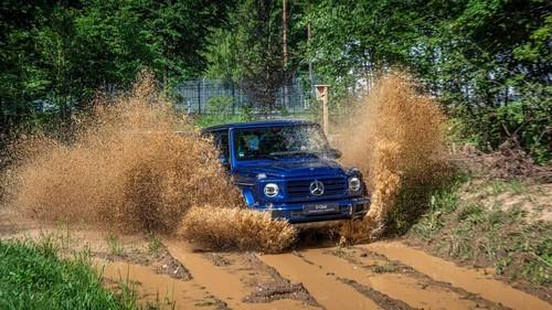 Một mẫu xe của Mercedes