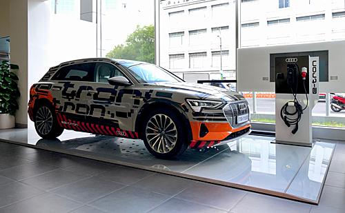 Audi e-tron xuất hiện tại TP HCM