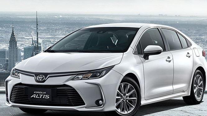 Mẫu xe Toyota Corolla Altis mới chuẩn bị được giới thiệu ở Thái Lan