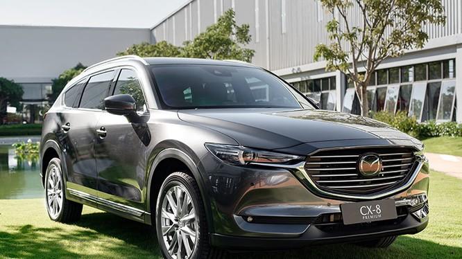 Mazda CX-8 lắp ráp trong nước vừa ra mắt