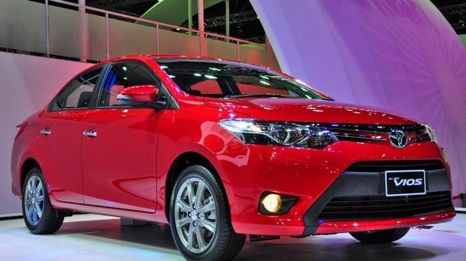 Mẫu xe Vios của Toyota