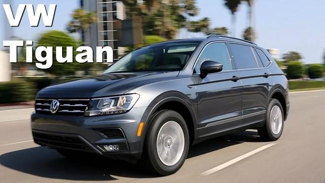Volkswagen Tiguan dính lỗi lò xo hệ thống treo phía sau.