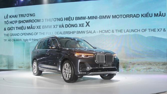 Mẫu xe BMW X7 2019 được Thaco giới thiệu