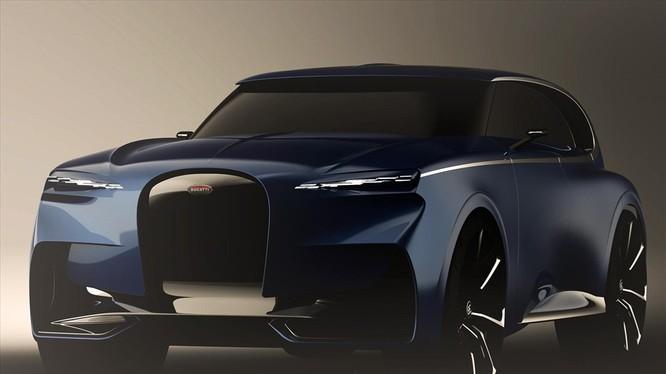 Hãng Bugatti sẽ dùng bản thiết kế của Sajdin Osmancevic để sản xuất rộng rãi xe ở phân khúc SUV ? Ảnh: Carbuzz