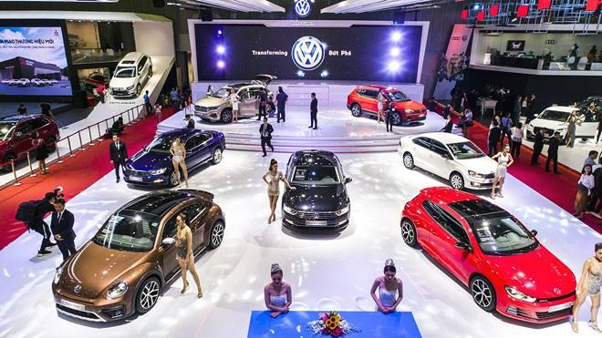 Triển lãm ô tô Việt Nam năm 2019.