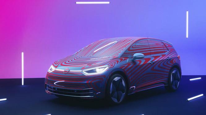 Hình ảnh ban đầu của Volkswagen ID.3.