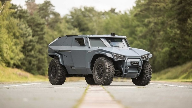 Mẫu xe quân sự Arquus Scarabee của Volvo.