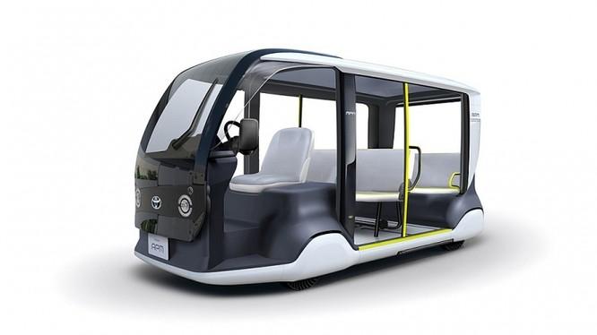"""Toyota thiết kế sản phẩm mới và đặc biệt có tên """"APM"""", một loại xe được thiết kế chuyên để sử dụng tại Thế vận hội"""