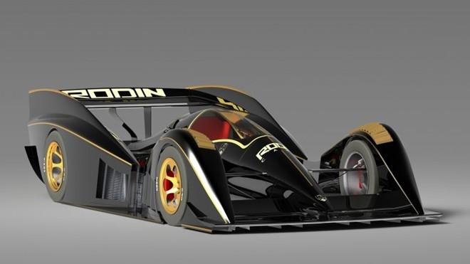 Hình ảnh phác thảo mẫu siêu xe Rodin FZero.