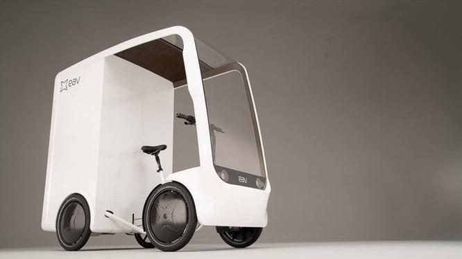 Mẫu xe đạp điện mới ra mắt của hãng EAV. Ảnh: Carscoops