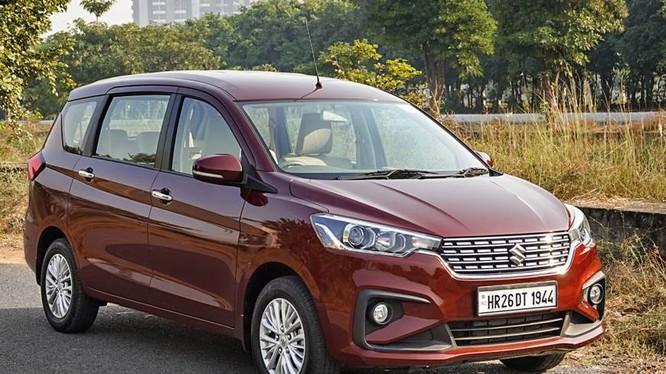 Phiên bản nâng cấp của chiếc MPV Suzuki Ertiga vừa ra mắt tại thị trường Ấn Độ.