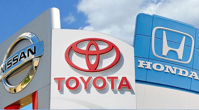 Các hãng xe Nhật đang chịu áp lực cạnh tranh tại Mỹ