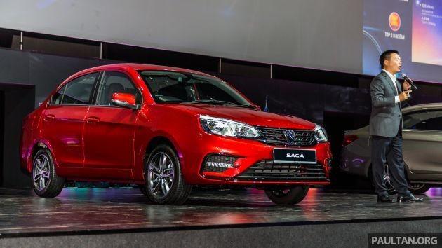 Phiên bản nâng cấp của chiếc sedan giá rẻ Proton Saga vừa được giới thiệu đến người tiêu dùng Malaysia.