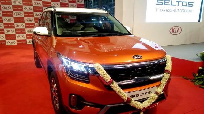 """Mẫu SUV hạng trung Kia Seltos sắp """"trình làng"""" tại Ấn Độ."""