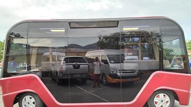 Kiểu dáng lạ của xe buýt Vinfast