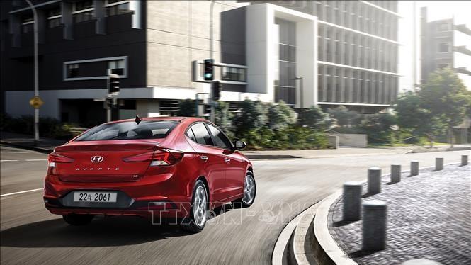 Một mẫu ô tô của hãng Hyundai. Ảnh: Yonhap/TTXVN
