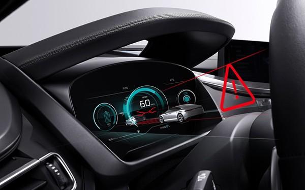 Mô phỏng công nghệ màn hình không gương của Bosch.