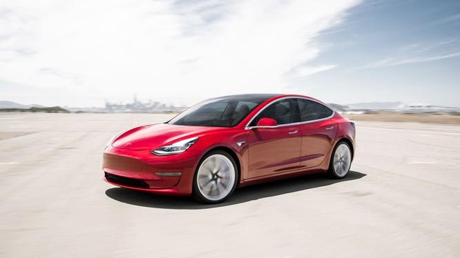 Một mẫu ô tô điện của Tesla