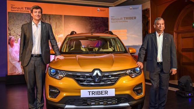 Mẫu Renault Triber mới tại thị trường Ấn Độ