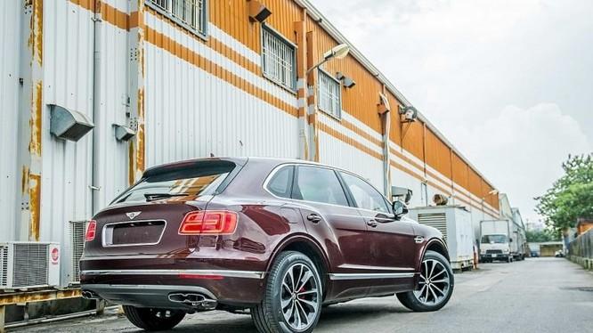 Bentayga được lựa chọn làm mẫu xe biểu tượng cho cột mốc 100 năm của thương hiệu Bentley