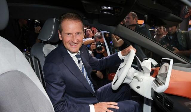 CEO Herbert Diess của Volkswagen