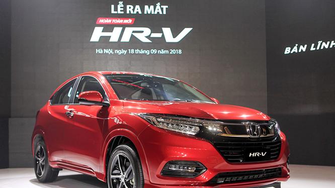 """Honda HR-V """"bùng nổ"""" với 704 xe bán ra trong tháng đầu tiên ra mắt, nhưng dần rơi xuống chót bảng. Ảnh BD."""
