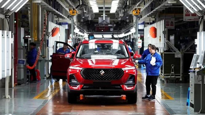 Thị trường ôtô Trung Quốc thu hẹp sau 28 năm phát triển khiến nhiều hãng sản xuất trong và ngoài nước chật vật với công suất dư thừa. Ảnh: Reuters