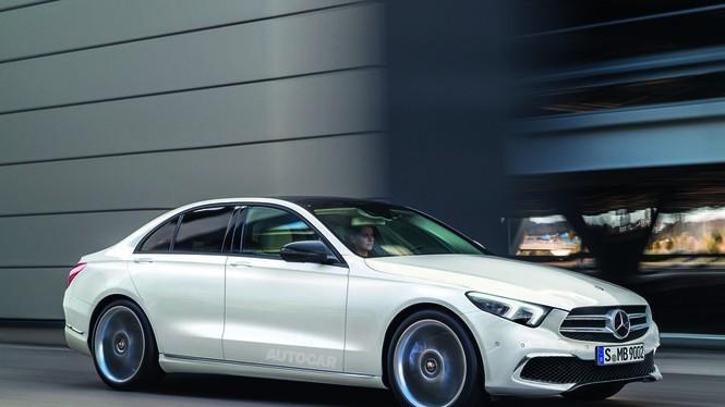 Mẫu Mercedes-Benz C-Class thế hệ mới sẽ được nâng cấp mạnh.