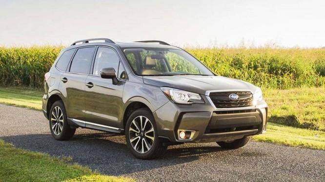 Subaru Forester đời 2015 - 2018 bị triệu hồi do lỗi siết đai ốc của ống khí xả