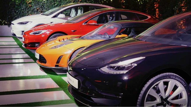 Ô tô của Tesla rất được ưa chuộng tại Trung Quốc