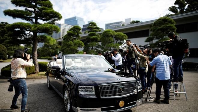Chiếc limousine đặc biệt sẽ được dùng trong lễ đăng cơ của Nhật hoàng Naruhito