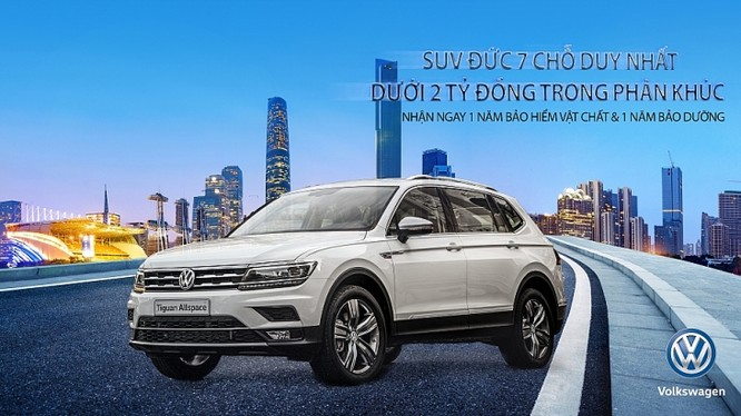 Volkswagen tri ân khách hàng nhân kỷ niệm 1.000 xe Tiguan lăn bánh tại thị trường Việt Nam