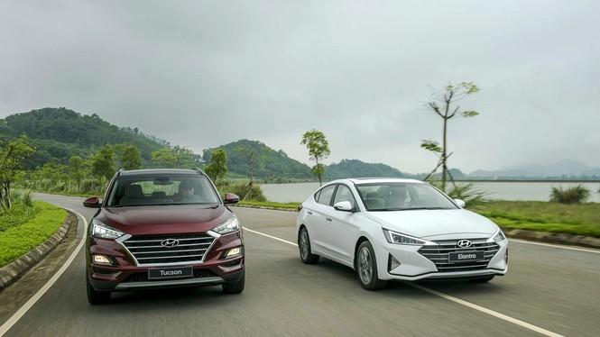 Hai mẫu xe của Hyundai