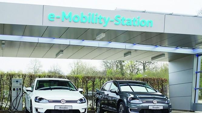 Dòng xe điện e-Golf của hãng xe Volkswagen