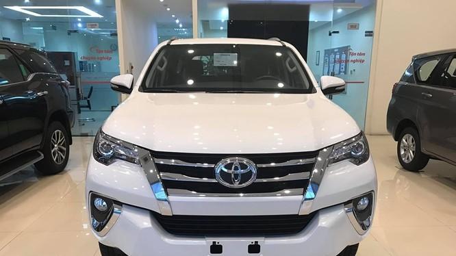 Doanh số tăng trưởng tốt nhưng Toyota Fortuner vẫn liên tục được điều chỉnh tăng mức giảm giá từ đầu tháng 10 đến nay.