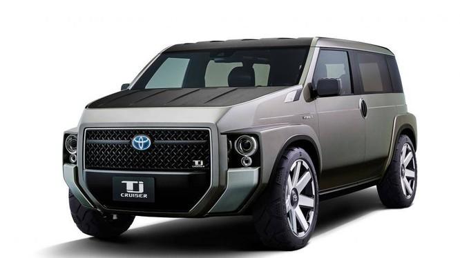 Mẫu xe ý tưởng TJ Cruiser sẽ xuất hiện tại gian hàng của Toyota Việt Nam tại VMS 2019