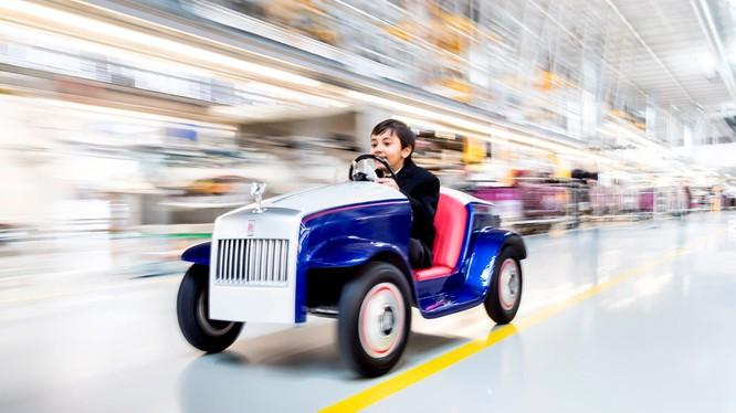 Chiếc Rolls-Royce dành cho trẻ nhỏ.