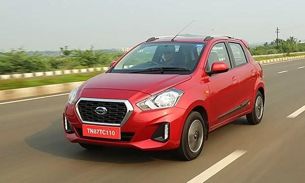 Datsun Go - một trong những sản phẩm thuộc thương hiệu con của Nissan tại Ấn Độ. Ảnh: Car and Bike