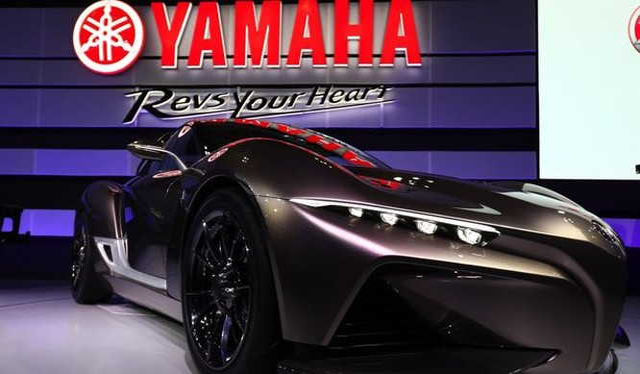 Một mẫu xe thể thao của Yamaha
