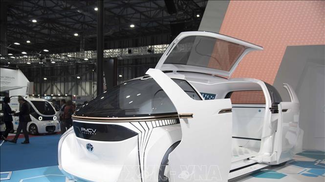 """Mẫu xe điện đa dụng PMCV có khả năng """"biến hóa"""" từ 0 đến 7 ghế ngồi của Toyota"""