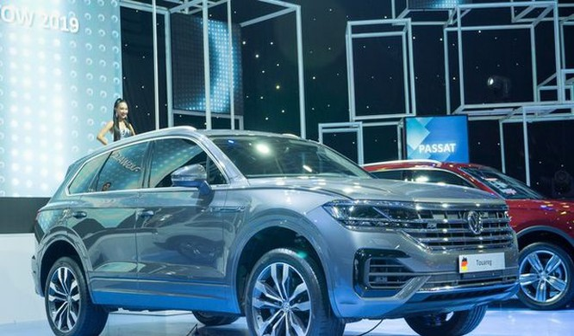 Mẫu xe Volkswagen Touareg tại Triển lãm VMS 2019