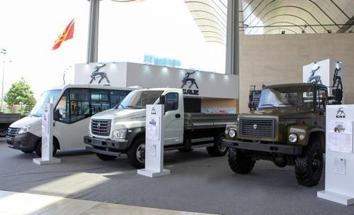 Các mẫu xe GAZ giới thiệu tại Vietnam AutoExpo 2018