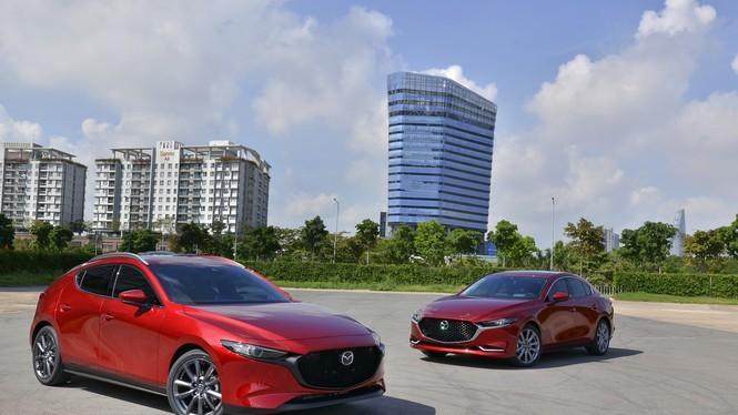 Mẫu xe Mazda do Thaco lắp ráp