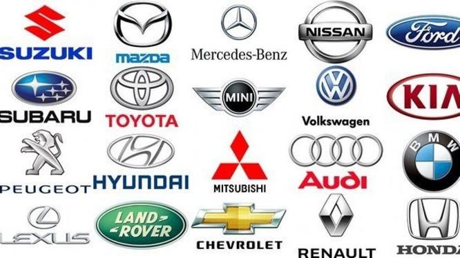 Logo những hãng xe tiêu biểu
