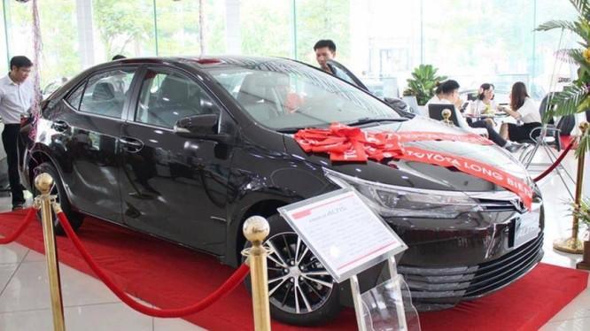 Toyota Corolla Altis sụt giảm doanh số mạnh trong tháng 10/2019