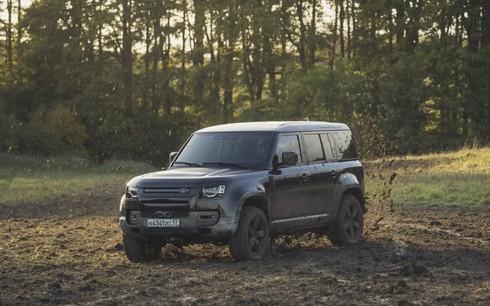 Land Rover Defender 2020 sẽ góp mặt trong phim James Bond.