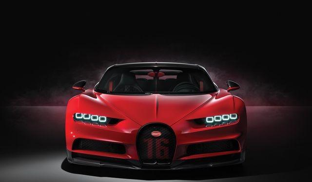 Một mẫu xe của Bugatti